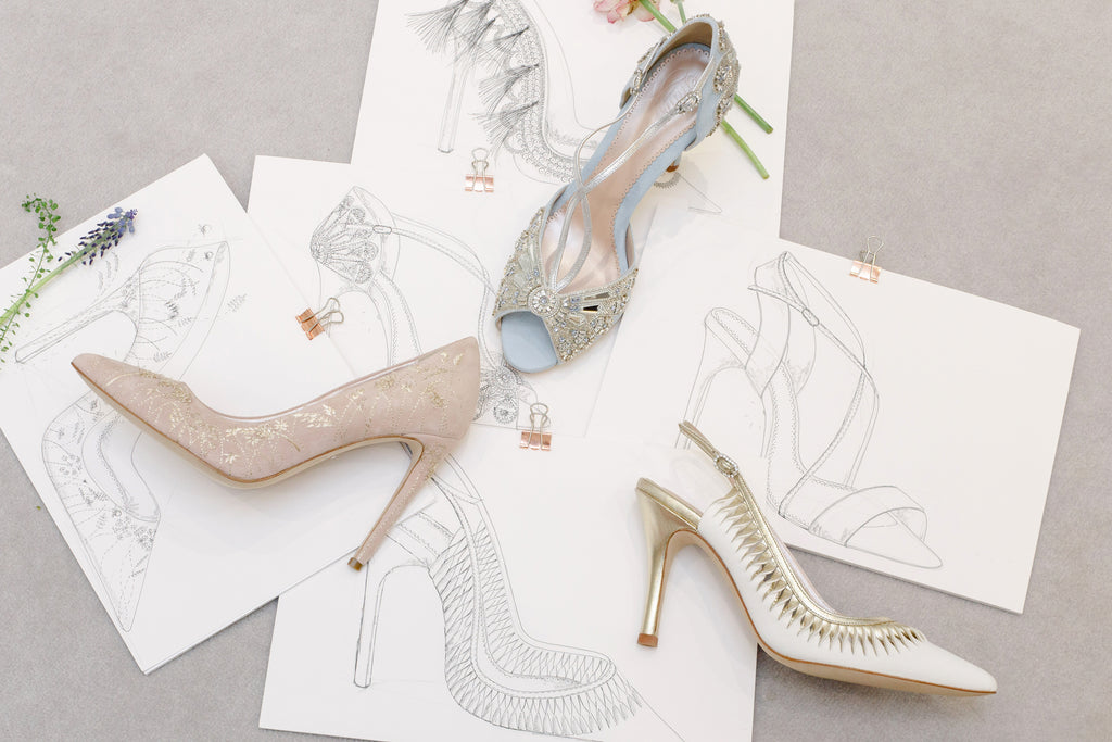 Emmy London From Sketch To Shoe Bridal Shoes