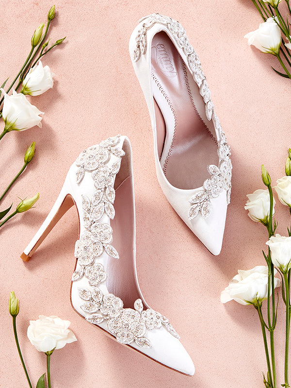 bf44878aa806 Luxury Bridal Shoes