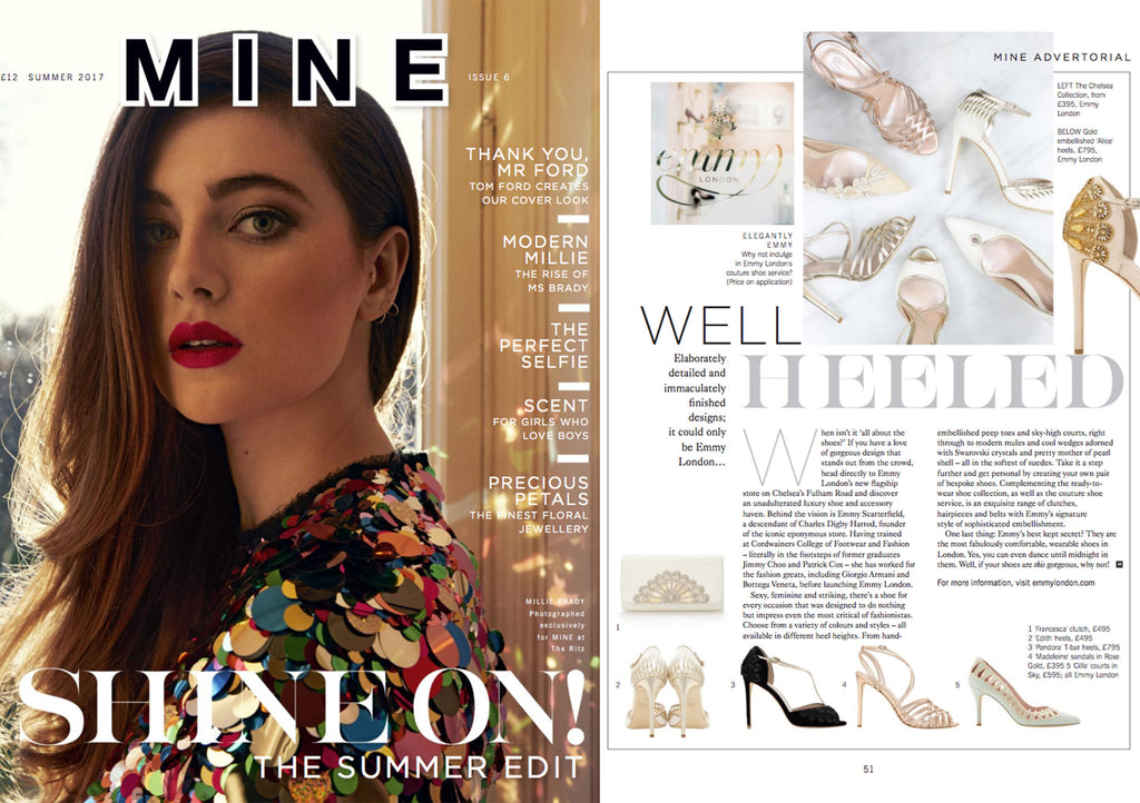 Mine Magazine with Emmy London Advertorial