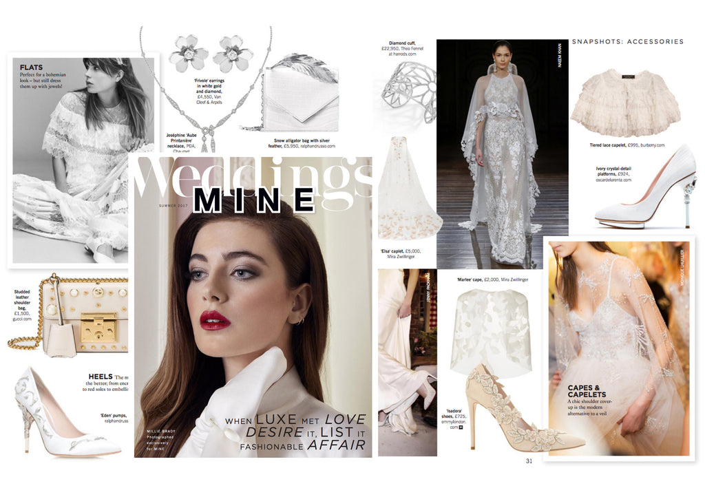 Emmy London in Mine Magazine Wedding Issue 6
