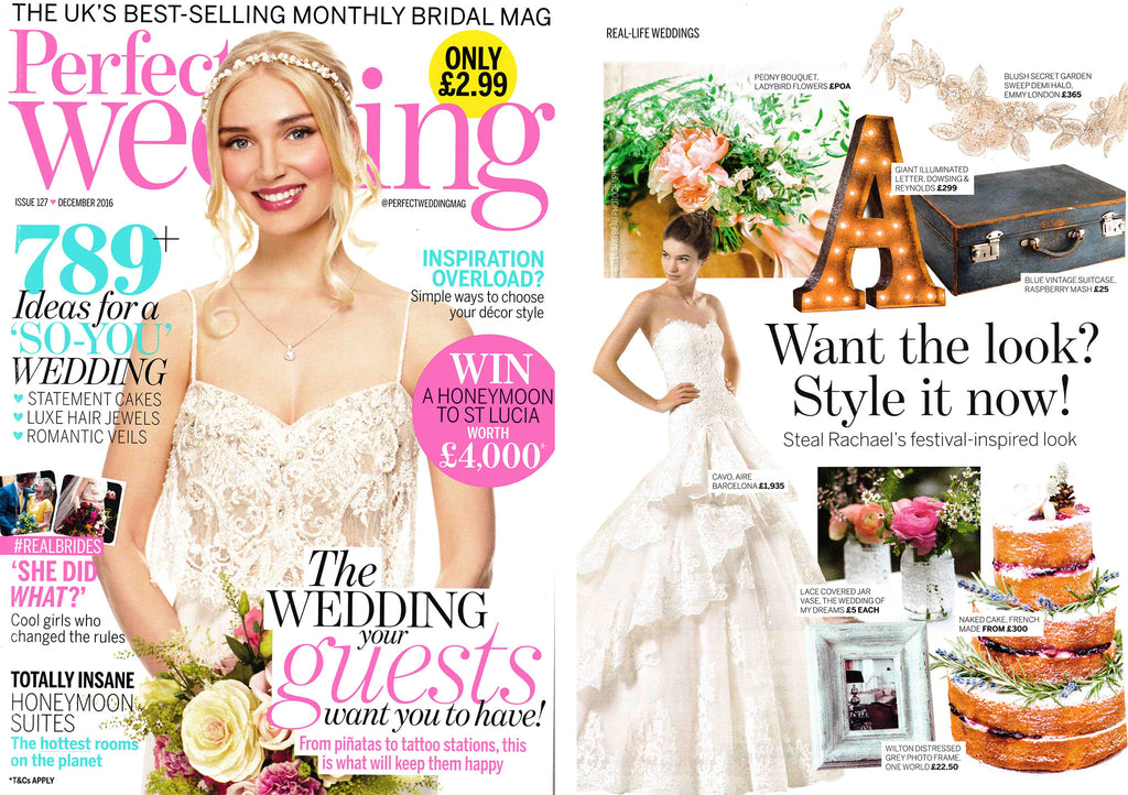 Perfect Wedding Magazine Emmy London Feature