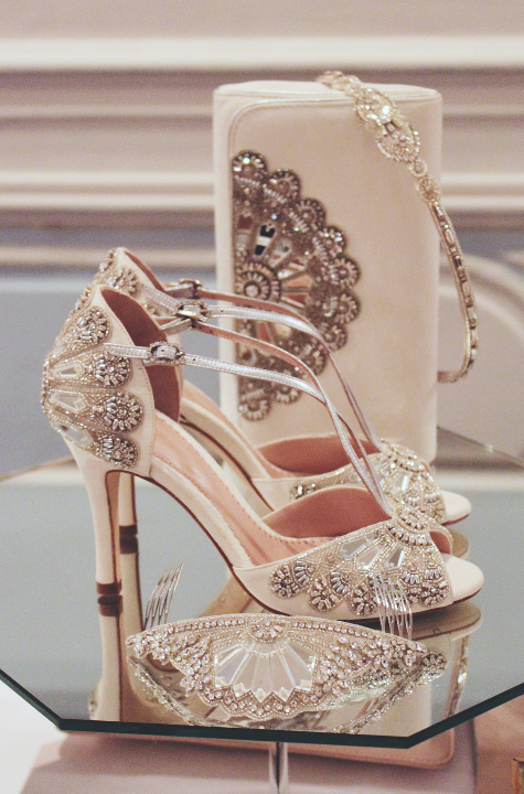 Emmy London Cinderella Wedding Shoe Collection