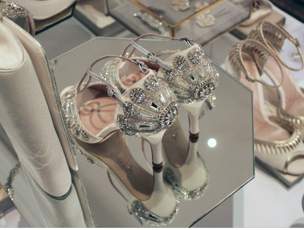 Emmy London Cinderella Bridal Shoes