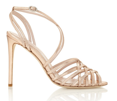 Emmy London Madeleine in Rose Gold Shoe