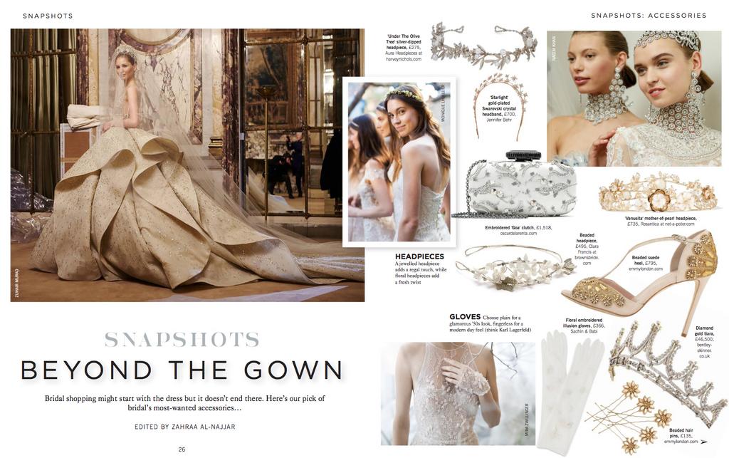 Mine Magazine Issue 6 Wedding with Emmy London Shoes and Accessories