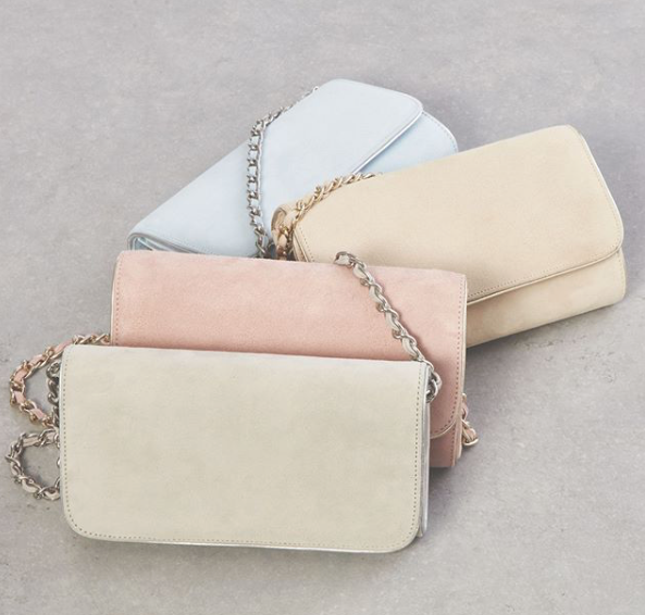 Emmy London Pastel Clutch Bags