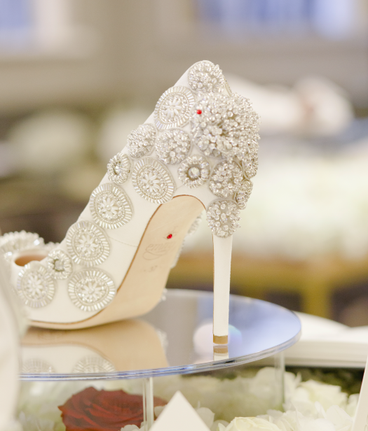 Emmy London Exclusive New Bridal Shoe Collection for The Corinthia Hotel London