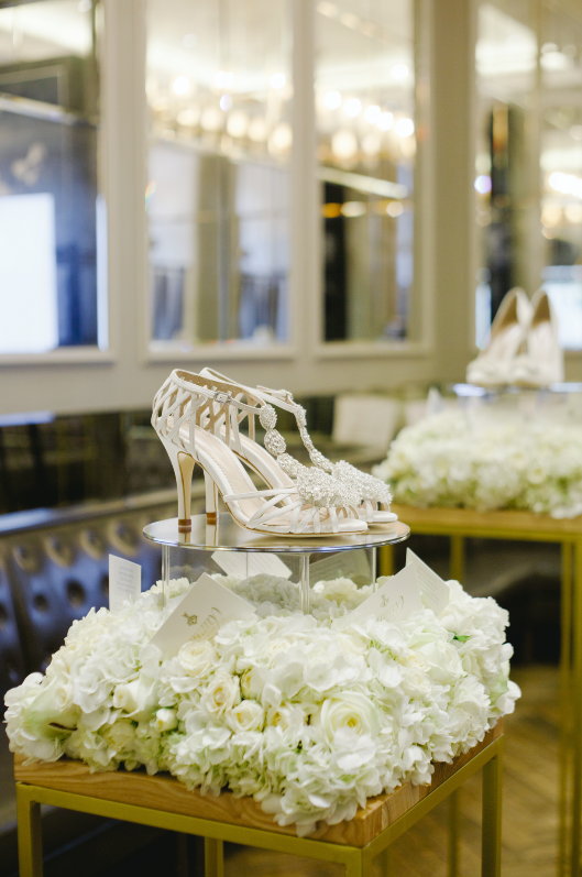 Emmy London Launches a new wedding shoes collection with the Corinthia Hotel London