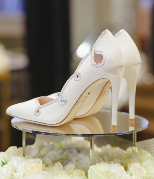 Corinthia Hotel London Weddings Emmy London Exclusive Bridal Shoe Collection