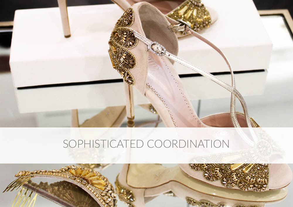 Sophisticated Coordination Styling Blog Complete Your Bridal Look with Emmy London