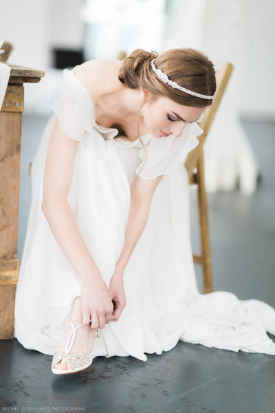 Emmy London Wedding Trends Over the Centuries Bridal Styling Shoes and Accessories