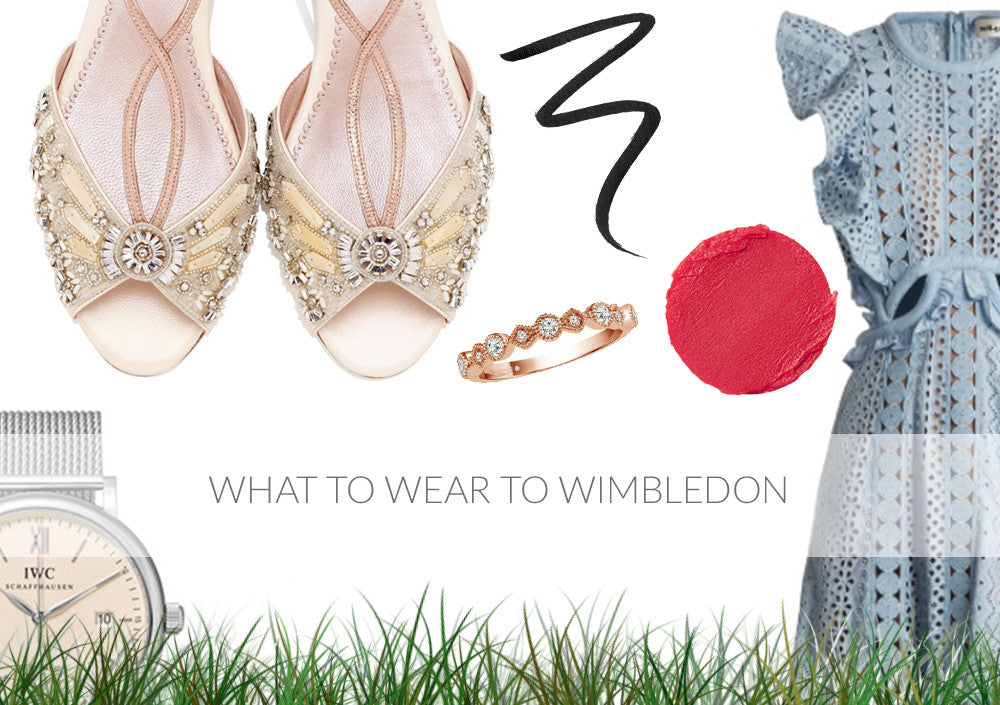 What to Wear to Wimbledon with Emmy London Shoes and Accessories