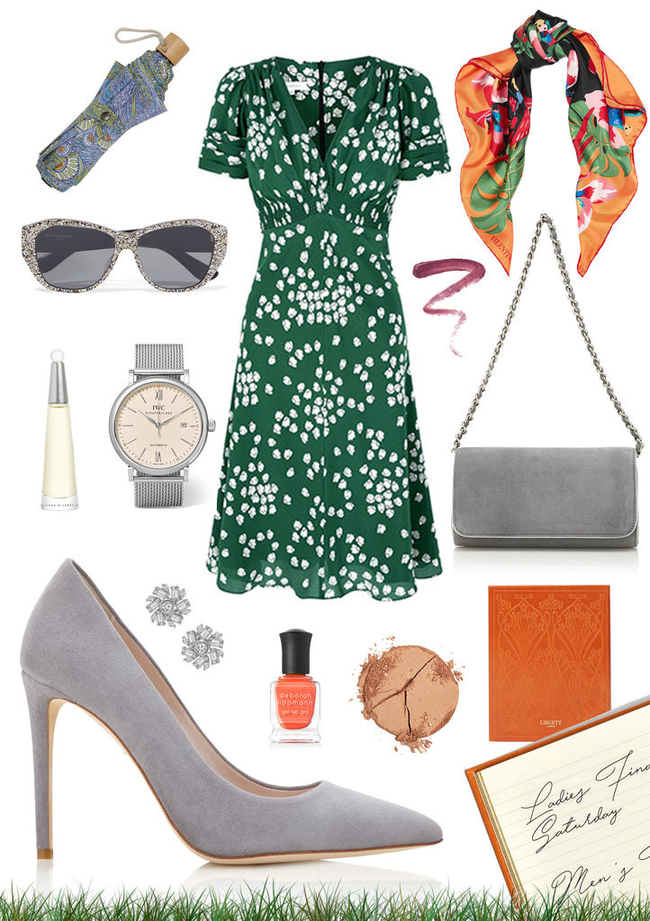 What to Wear to Wimbledon England Tennis Match with Emmy London Shoes, Accessories