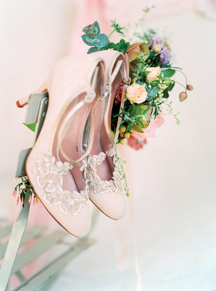 Blossom Shoes Perfect for Bridesmaids Floral Design Shoes