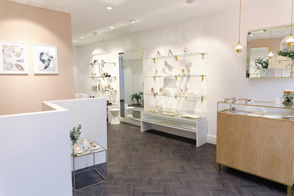 Photograph of inside Emmy's London store