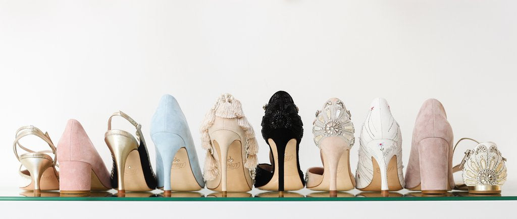Different heels for your wedding day by Emmy London