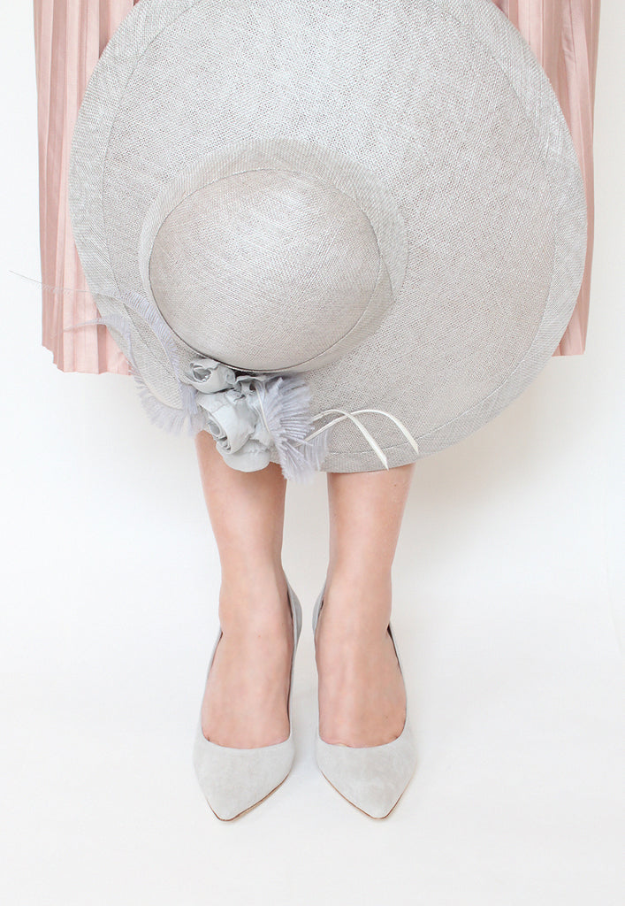 Emmy London Occasion Shoes perfect for the Race Day with Matching Hat