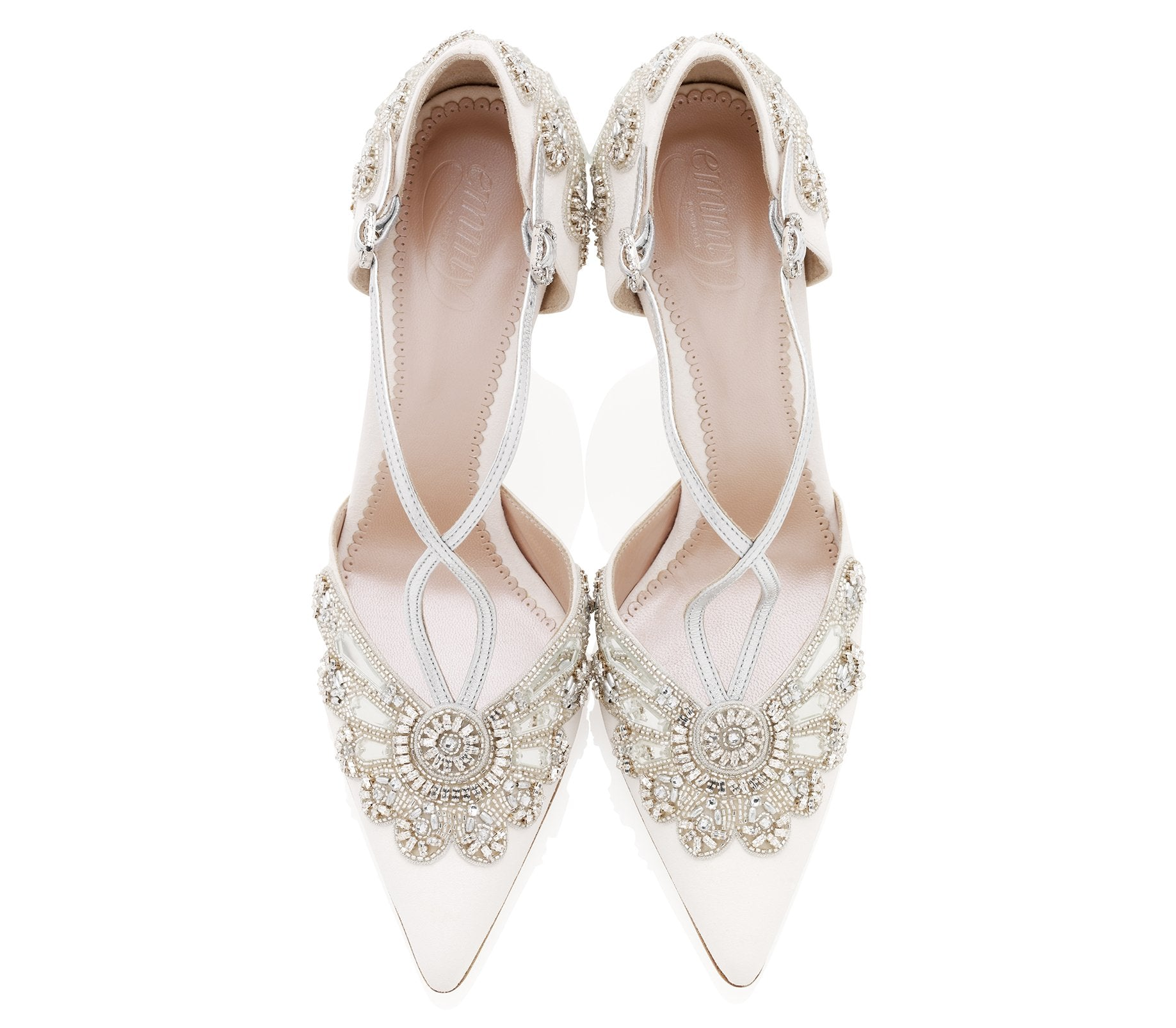 Cinderella Point Wedding Shoes By Emmy London Overhead