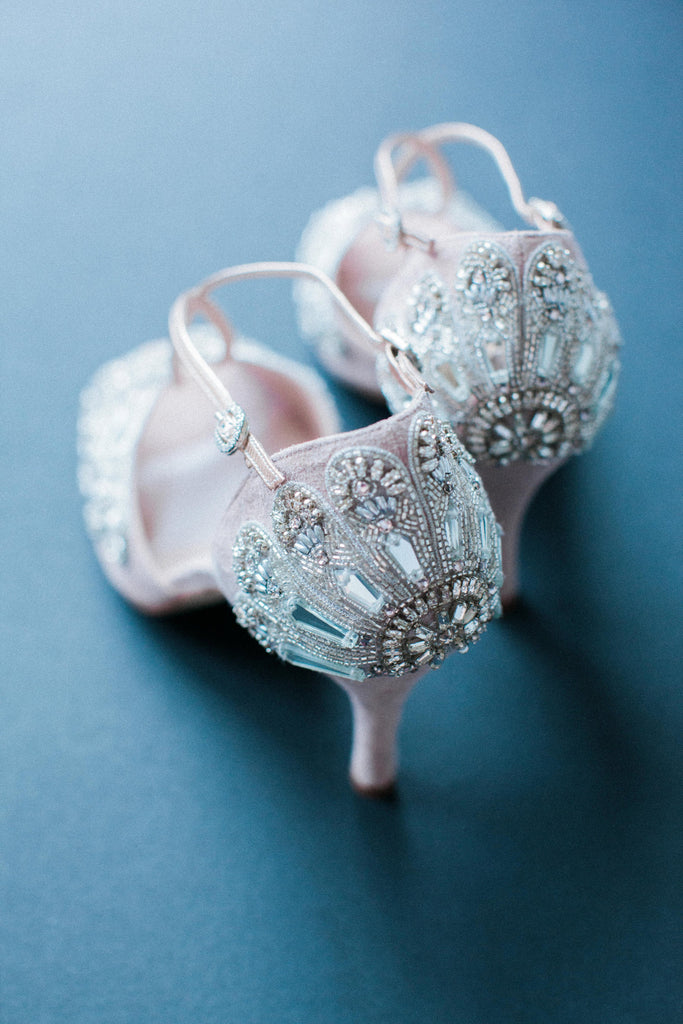 Emmy London Arabella Pink Bridal Sandal Designed in London
