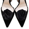 Luxury Silk Satin Shoe Clips By Emmy London