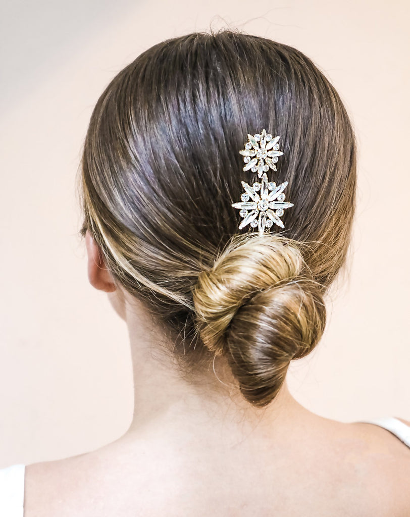 Crystal Star Bridal Hair Pins Designed By Emmy London