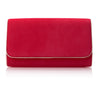 Natasha Lipstick Luxury Clutch Bag By Emmy London