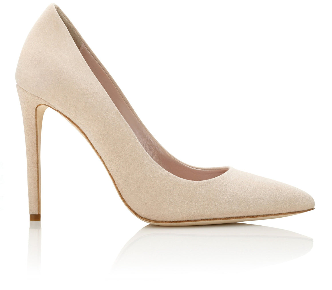 616c66443aed5 Rebecca Blush Pointed Stiletto Court Shoe by Emmy London
