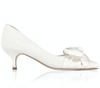 Florence Kitten Heel Bridal Shoes By Emmy London