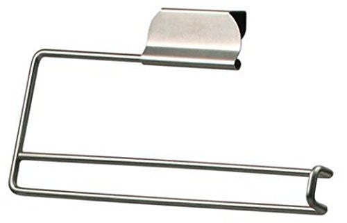 Spectrum Diversified Designs 76771 Paper Towel Holder, Fits Over Cabinet/Drawer, Brushed Nickel, 5 x 11-3/4 x 1-5/8-In.