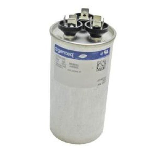 P291-8053RS - 80 + 5 uf MFD 370 Volt VAC - Carrier Round Dual Run Capacitor Upgrade