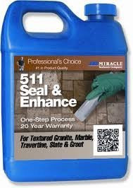 Miracle Sealants SG 511 Seal and Enhance Penetrating Sealer and Color Enhancer