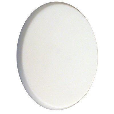 "Ultra Hardware 849-2053-1125 Ultra 57700 3"" White Door Knob Protector"