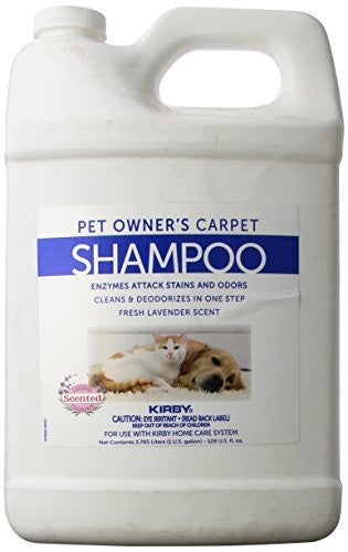 Genuine Kirby Pet Owners Foaming Carpet Shampoo (Lavender Scented)- 1 Gallon
