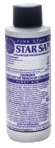 Star San Sanitizer 4 oz.