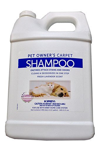 Kirby 1 Gallon Regular Pet Shampoo