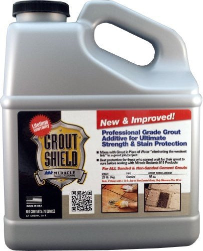 Miracle Sealants GR SH N&I 70 OZ New and Improved Grout Shield, 70 oz. Bottle