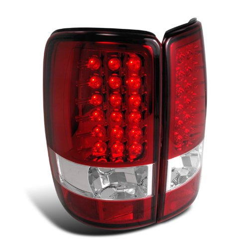 Spec-D Tuning LT-DEN00RLED-TM Red LED Tail Light