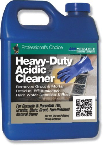 Heavy Duty Acidic Cleaner - Quart