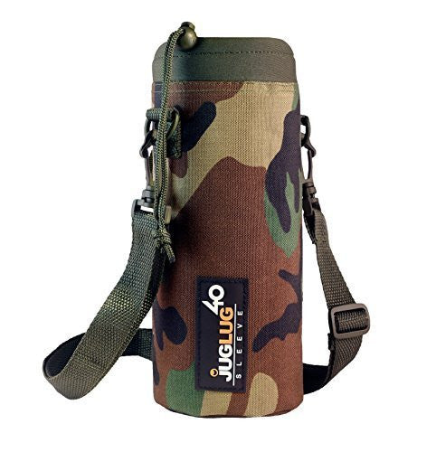 JugLug Sleeve / Pouch for Hydro Flask 40 oz. Bottles - Camouflage (Camo)