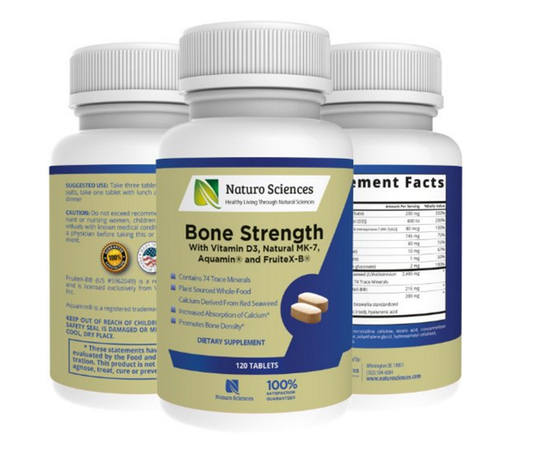 Calcium Bone Strength by Naturo Sciences