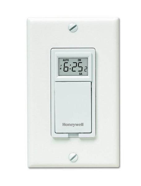Honeywell RPLS530A 7-Day Programmable Timer Switch, White