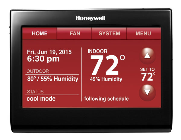 Honeywell TH9320WFV6007 Wi-Fi 9000 Color Touchscreen Thermostat w/ Voice Control