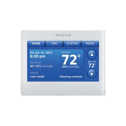 Honeywell White Prestige IAQ Kit with RedLINK Technology (Includes Thermostat, EIM & 2 Duct Sensors)
