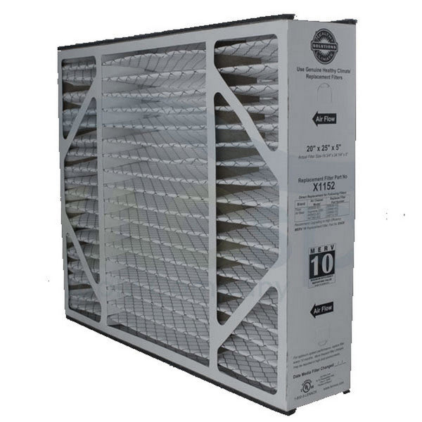 "Lennox X1152 - Healthy Climate MF1-20 MERV 11 Filter 20"" x 25"" x 5"""