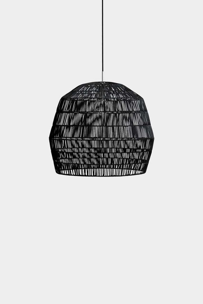Ay Illuminate Luminaire Ay Illuminate, suspension bambou Nama noir Nama 2 noir