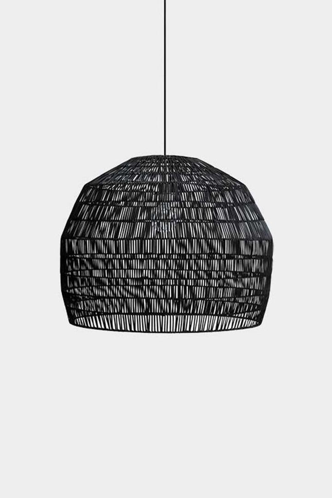 Ay Illuminate Luminaire Ay Illuminate, suspension bambou Nama noir Nama 3 noir