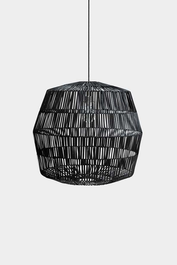 Ay Illuminate Luminaire Ay Illuminate, suspension bambou Nama noir Nama 4 noir
