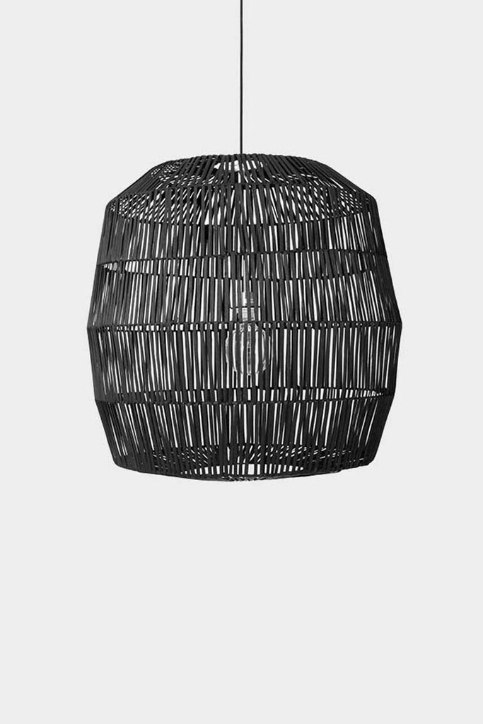 Ay Illuminate Luminaire Ay Illuminate, suspension bambou Nama noir Nama 5 noir