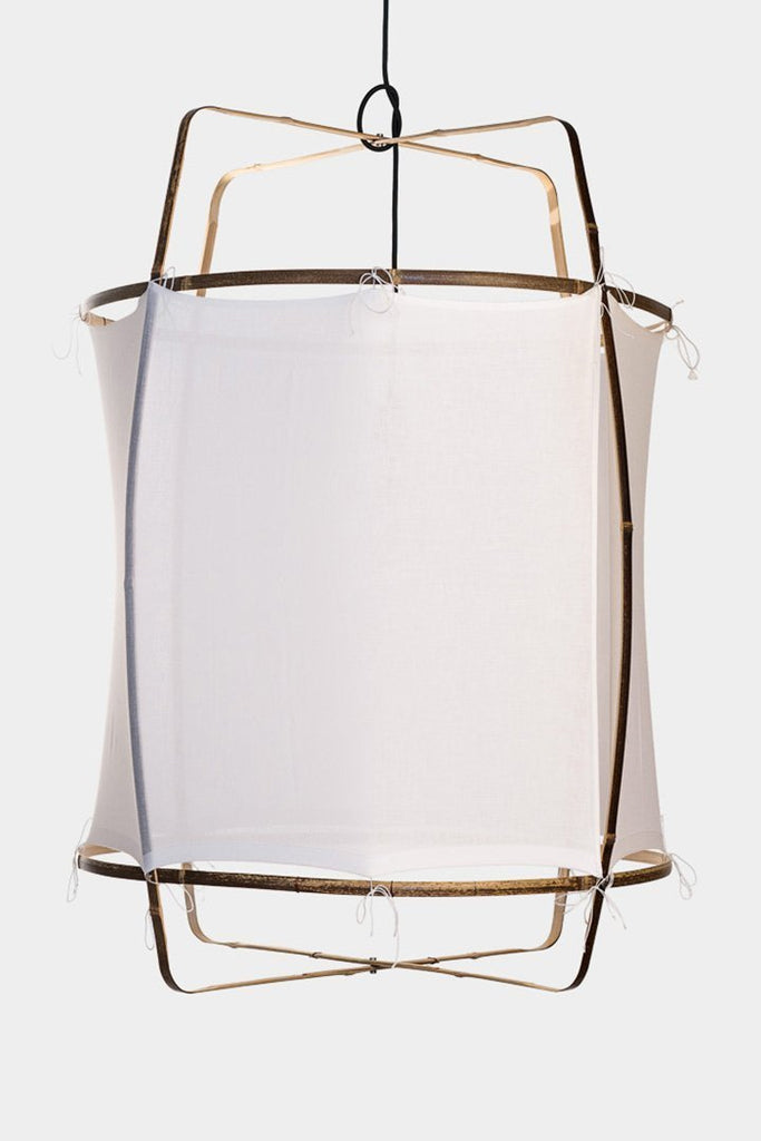 Ay Illuminate Luminaire Ay Illuminate, suspension Z1 coton blanc, Ø67CM, H100CM