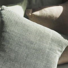 Hand woven cushion, made in Mexico, fair trade.